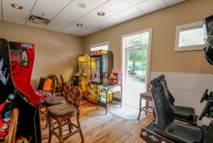 Disney World Kid Friendly Resort - Games room in Bahama Bay Resort