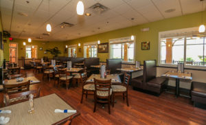 Disney World Kid Friendly Resort - Tradewinds Restaurant in Bahama Bay Resort