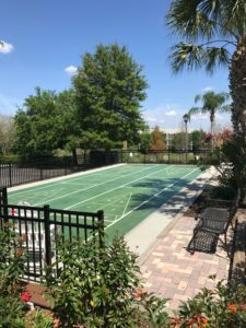 Disney World Kid Friendly Resort - Shuffleboard court
